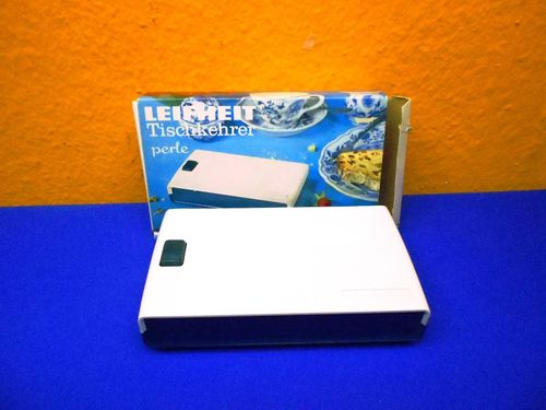 Vintage Leifheit Table-top sweeper with original box
