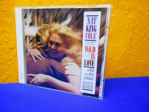 Nat King Cole Wild is Love Capitol Records CD