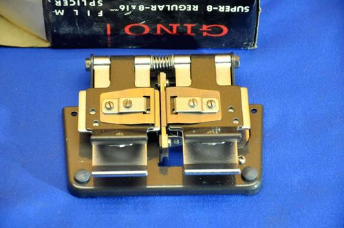 Gino Film Splicer D-III super 8 regular 8 & 16mm