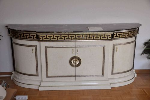 Designer Sideboard white high gloss by Armobil Rosetto