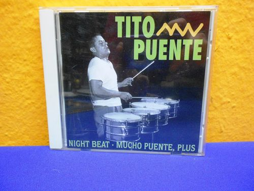Tito Puente Night Beat MUCHO PUENTE, plus CD