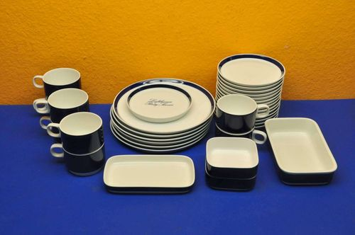 Vintage Lufthansa crockery 33 porcelain parts