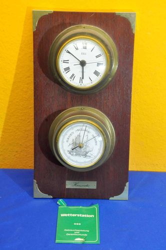 Eble Hanseatic Watch and Barometer maritime