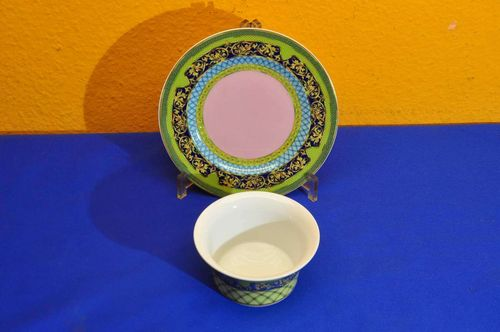 Rosenthal Versace Russian Dream Set Teller + Schale
