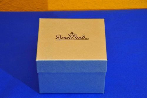 Rosenthal Packaging Leather Cardboard Gift Box