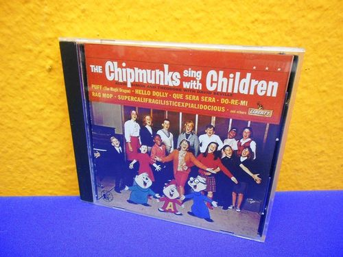 The Chipmunks sing with Children EMI USA