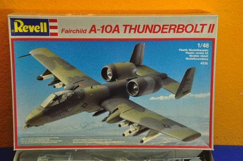Revell Fairchild A-10A Thunderbolt II 1/48 Model Kit