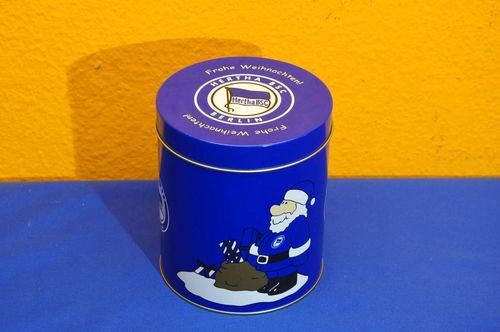 Hertha BSC Berlin tin can Merry Christmas