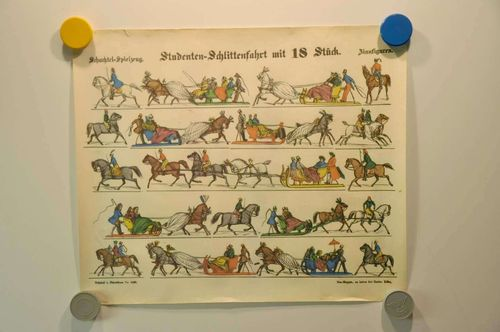 Neuruppiner picture sheet 2428 Schachtel-toys
