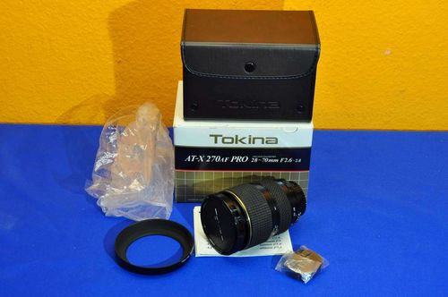 Tokina AT-X 270AF PRO 28-70mm F2,6-2,8 like new