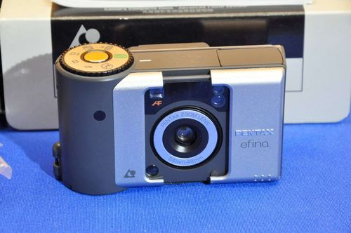 Pentax efina advanced APS compact camera + accessories