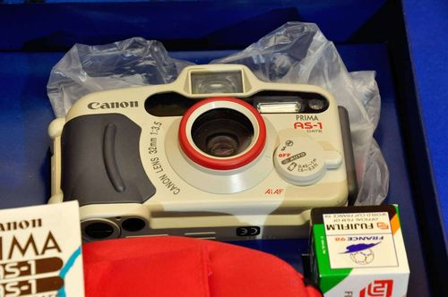 Canon Prima AS-1 Waterproof AF Sports Camera OVP