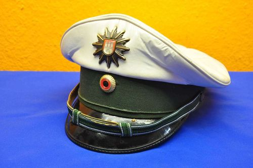 old police cap of the traffic police Hamburg