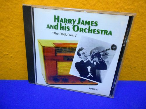 Harry James The Radio Years 1940-41 JUCD 2023