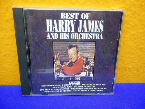 Best of Harry James and his Orchestra Curb CD
