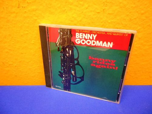 Benny Goodman benny rides again MCA CD