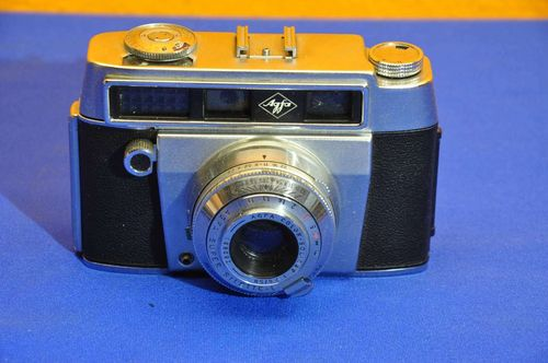 AGFA super Silette-L with Color-Solinar 1:2,8 50 lens