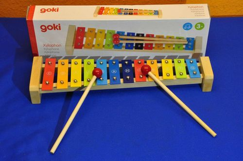 Goki Xylophone for children 3+ with box