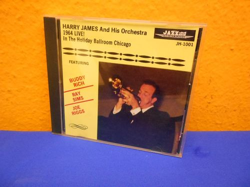 Harry James 1964 LIVE In The Holiday Ballroom Chicago