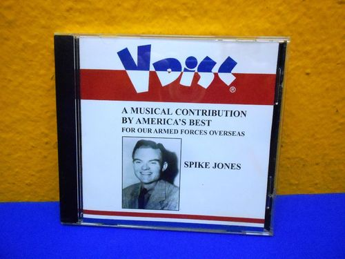 Spike Jones Collector's Choice VDisc CD