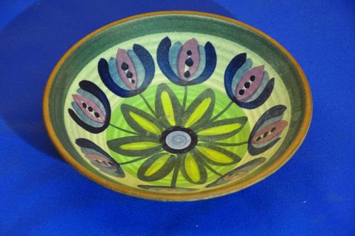 Life spiral ceramic wall bowl country style