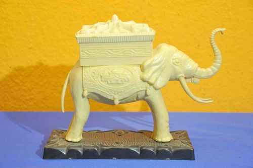 Zigarettenspender Elefant Made in Spain um 1930