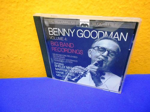 Benny Goodman Vol. 4 Big Band Recordings CD