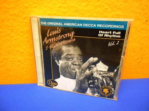 Louis Armstrong Heart Full Of Rhythem Vol. 2