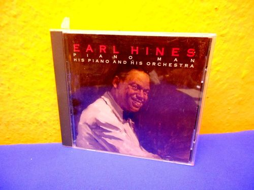 Earl Hines Piano Man His Piano and His Orchestra
