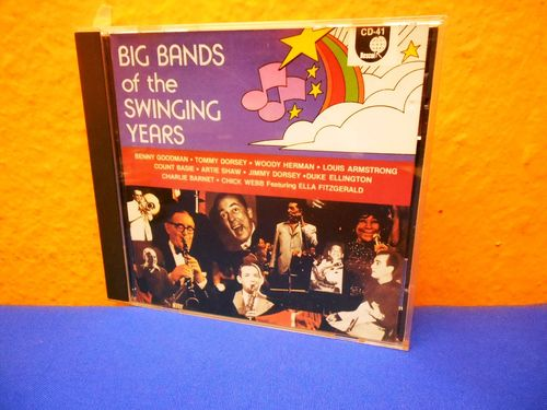 Big Bands of the Swinging Years CD-41