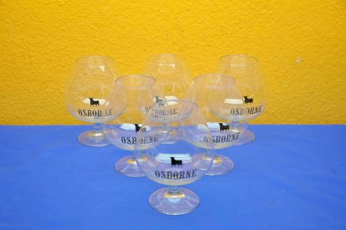 Osborne Brandy Snifter 6 pieces very large