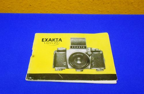Exakta Varex II b User Manual 36 pages German