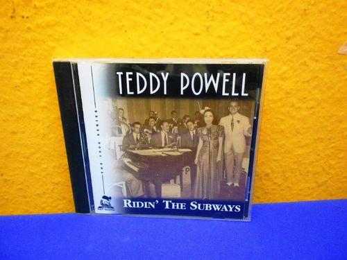 Teddy Powell Ridin' The Subway HEP CD 1075