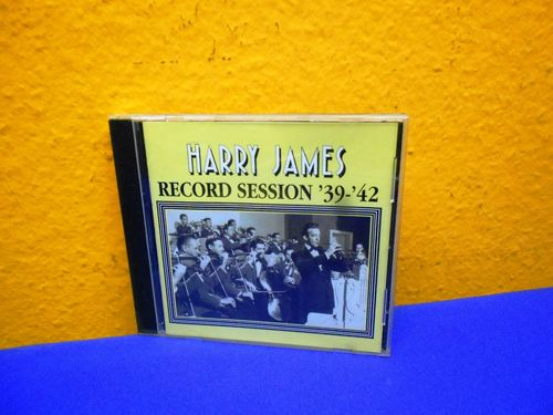 Harry James Record Session 39-42 HEP CD 1068