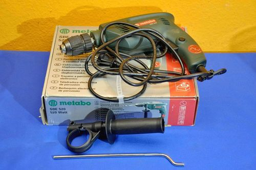 Metabo SBE 520 electronics impact drill in a box