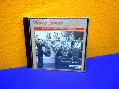 Harry James featuring Willie Smith CD JH-1046