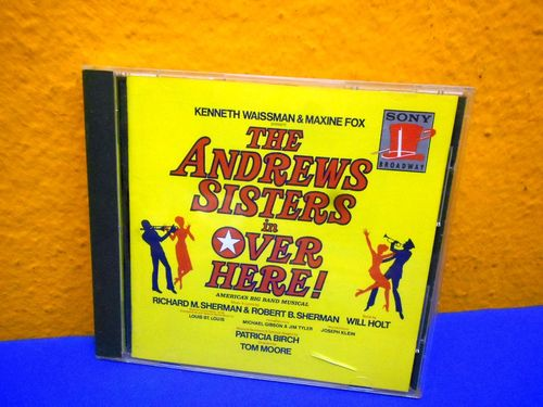 The Andrews Sisters in Over Here Broadway Cast