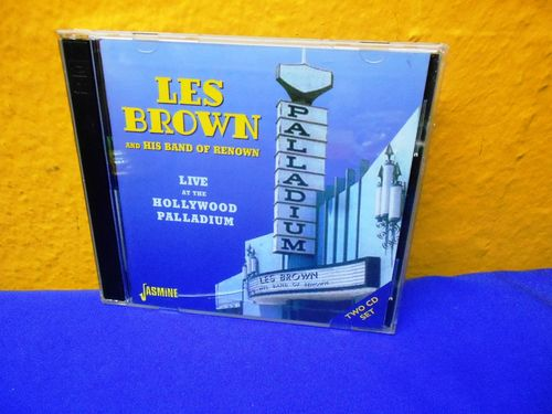 Les Brown Live At The Hollywood Palladium 2 CD Set