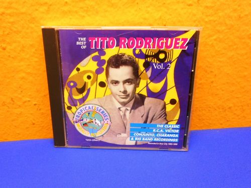 Tito Rodriguez & His Orchestra The Best of Vol 2