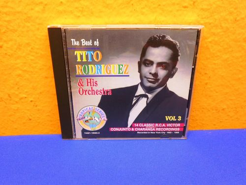 Tito Rodriguez & His Orchestra The Best of Vol 3