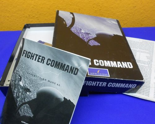 Fighter Command Computer Spiel Software Diskette