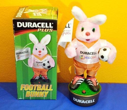 Duracell Plus Football Bunny 2002 Fifa World Cup NOS